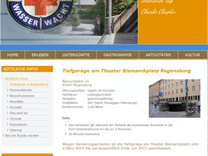 screenshot Tiefgarage am Theater