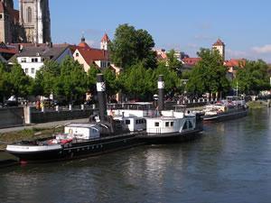 Schifffahrt Regensburg Kristallkönigin