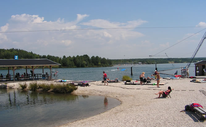 Steinberger See - Wasserski, Wakeboard, Segeln, Baden, Oberpälzer Seenland,