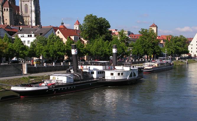 Donau-Schiffahrts-Museum Regensburg mit Öffnungszeiten und Infos
