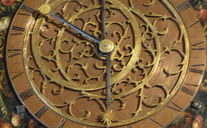 Kepler Museum Regensburg Uhr von Johannes Kepler