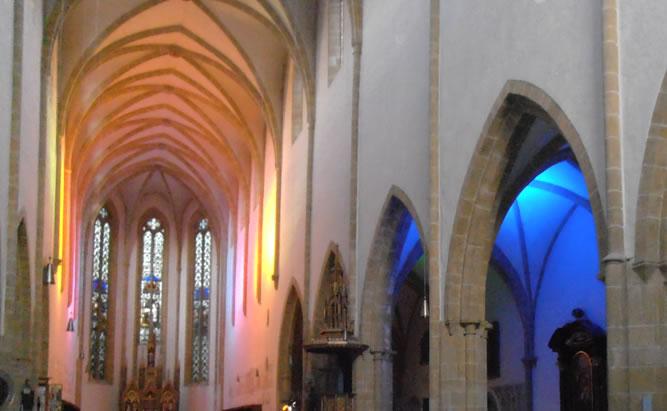 Dominikanerkirche St. Blasius - Sehenswürdigkeiten und Kriche in Regensburg Albertus Magnus Führungen und Öffnungszeiten