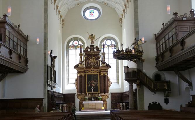 Die Dreieinigkeitskirche in der Regensburger Altstadt ist eine ganz besondere Sehenswürdigkeit