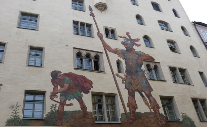 Goliath Haus Sehenswürdigkeiten in Regensburg