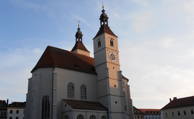Neupfarrkirche -  erste evangelich-lutherische Kirche Regensburg