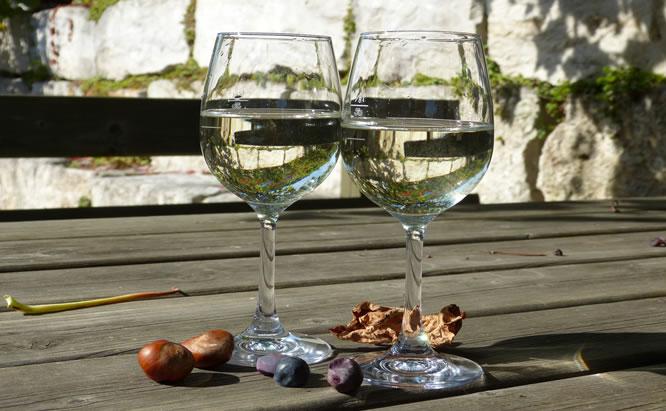 Regensburger Landwein ein wohlschmeckender Genuss für alle Weinliebhaber. Hier sehen sie einen echten Baierwein.