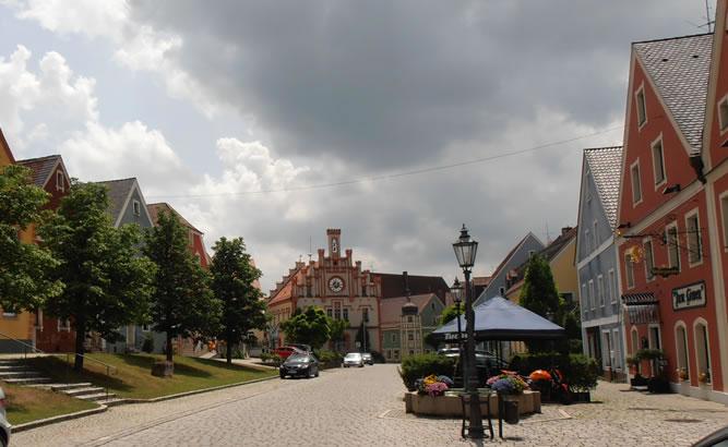 Velburg Marktplatz